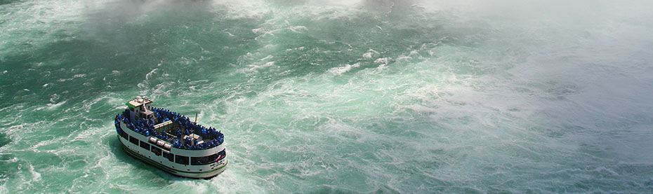 Take a classic Maid of the Mist boat ride.